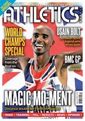 Athletics Weekly issue AW August 22 2013