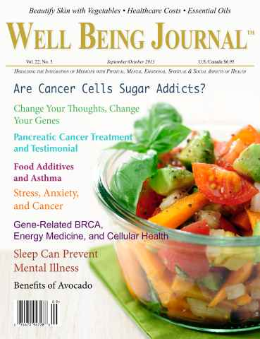 Well Being Journal issue September-October 2013