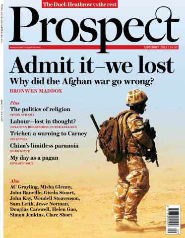 Prospect Magazine issue 210 - September 2013