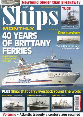 Ships Monthly issue Ships Monthly October 2013