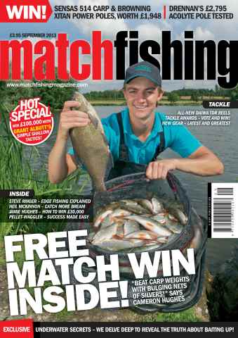 Match Fishing issue September - 2013