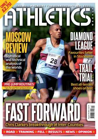 Athletics Weekly issue AW August 29 2013