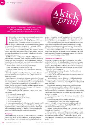 Writing Magazine Preview 30