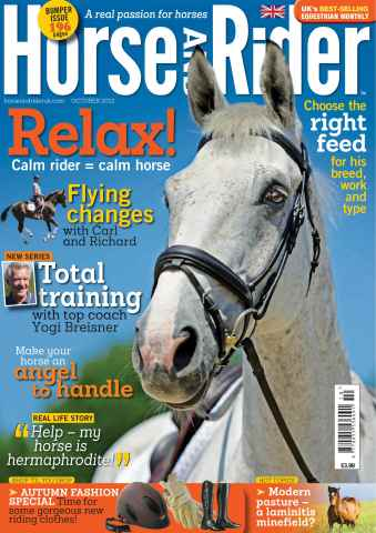Horse&Rider Magazine - UK equestrian magazine for Horse and Rider issue October 2013