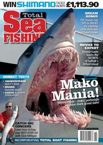 Total Sea Fishing issue October 2013