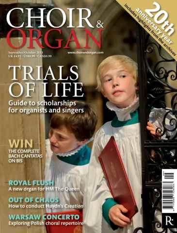 Choir & Organ issue Sept - Oct 2013