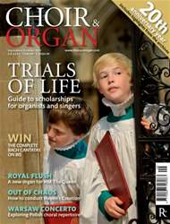 Choir & Organ issue Sept - Oct 2013