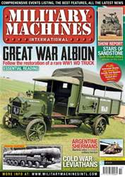 Military Machines International issue October 2013
