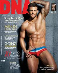 DNA Magazine issue #165 - Men In Uniform