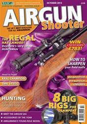 Airgun Shooter issue October 2013