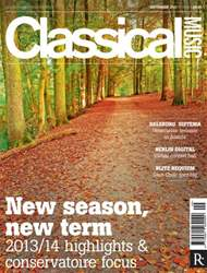 Classical Music issue September 2013