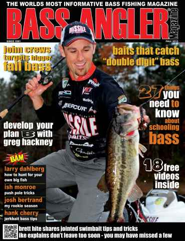 BASS ANGLER MAGAZINE issue Volume 22 Issue 3