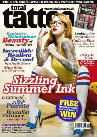 Total Tattoo issue October 2013 (No. 108)