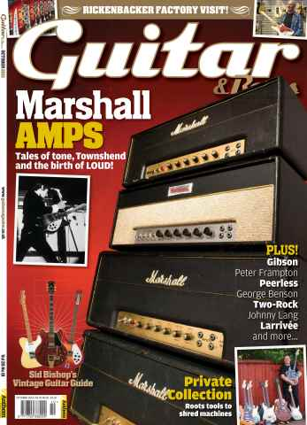 Guitar & Bass Magazine issue October 2013 Marshall Amps
