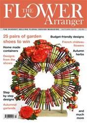 The Flower Arranger issue Autumn 2013