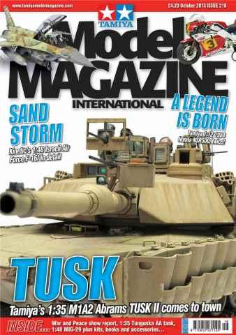 Tamiya Model Magazine issue 216