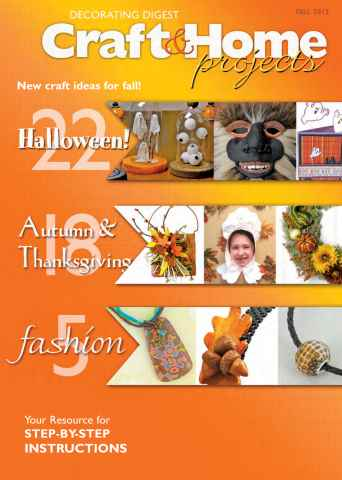 Craft & Home Projects issue Fall 2013