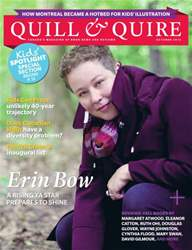 Quill & Quire issue October 2013