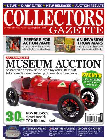 Collectors Gazette issue October 2013