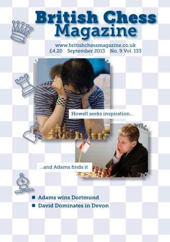 British Chess Magazine issue September 2013