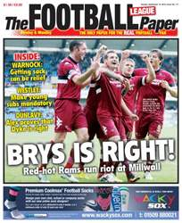The Football League Paper issue Sunday 15th September 2013