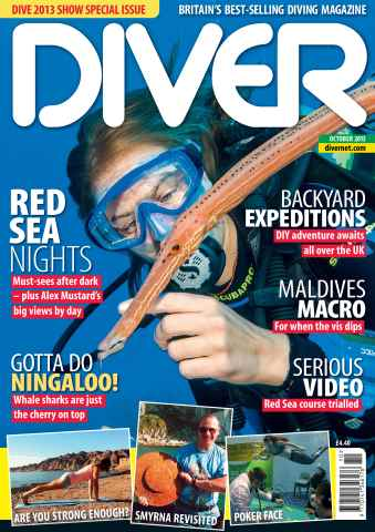 DIVER issue OCTOBER 2013