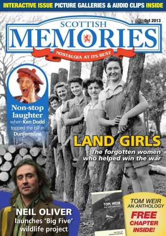 Scottish Memories issue Land girls Glasgow parks & more