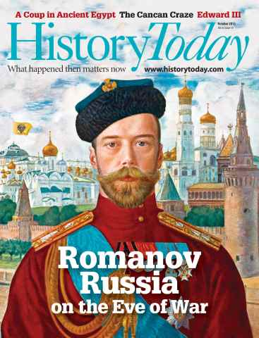 History Today issue October 2013