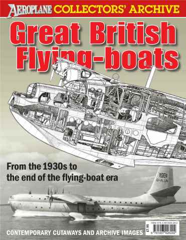 Aeroplane issue Great British Flying Boats