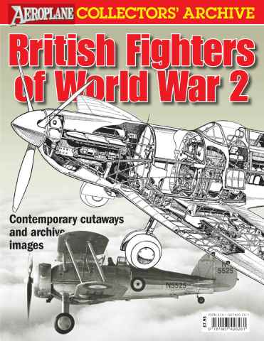Aeroplane issue British Fighters of WW2