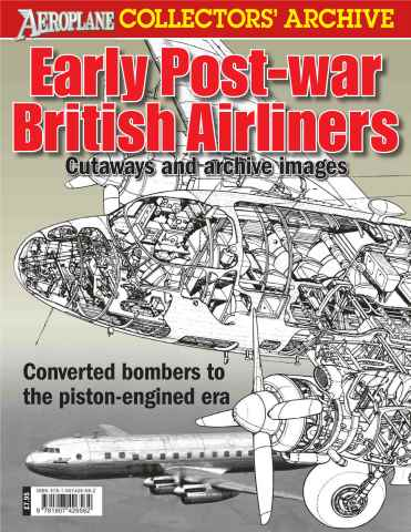 Aeroplane issue Early Post War Airliners