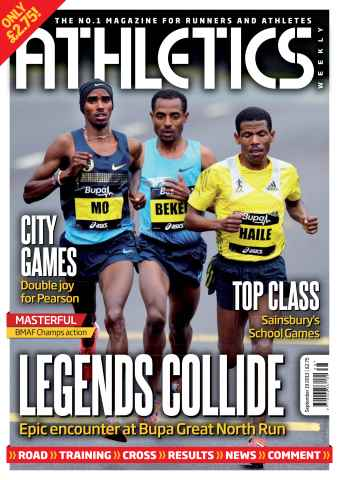 Athletics Weekly issue AW September 19 2013