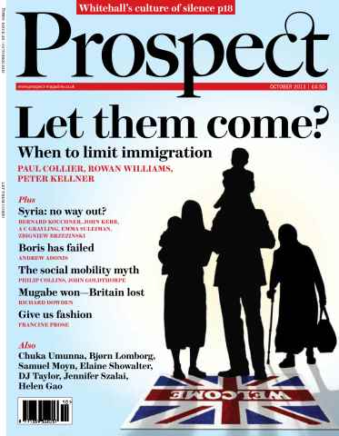 Prospect Magazine issue 211 - October 2013
