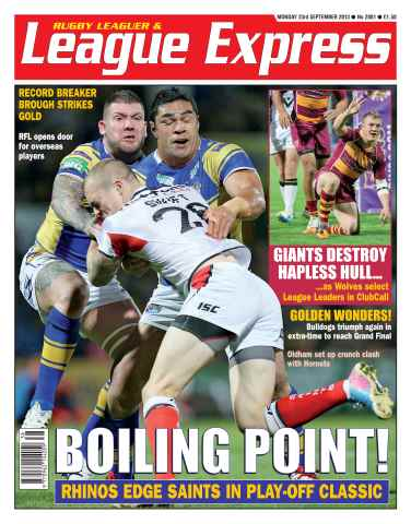 League Express issue 2881