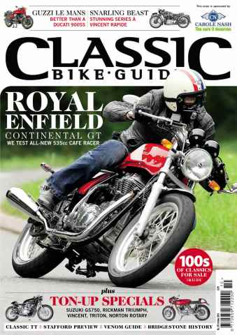 Classic Bike Guide issue October 2013
