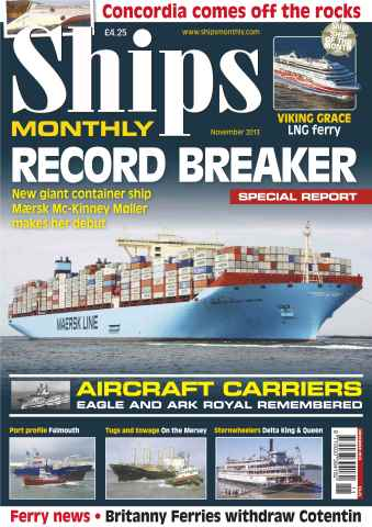 Ships Monthly issue Record Breaker