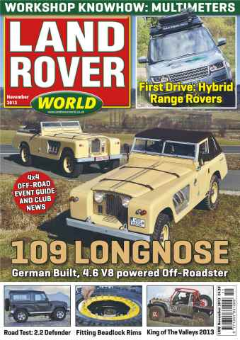 Landrover World issue 109 Longnose