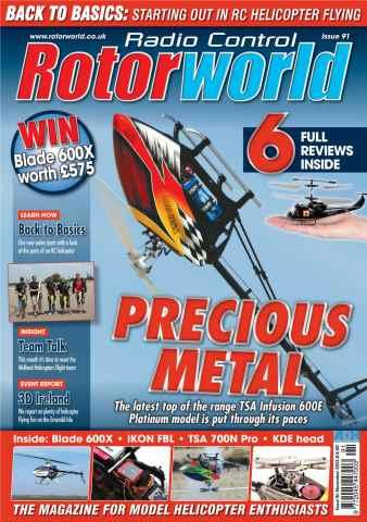 Radio Control Rotor World issue November 2013