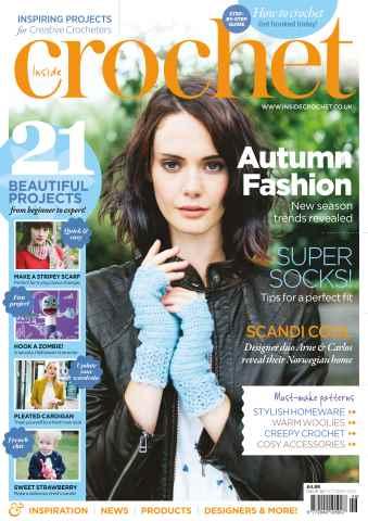 Inside Crochet issue October 2013 Issue 46