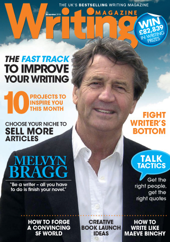 Writing Magazine issue November 2013