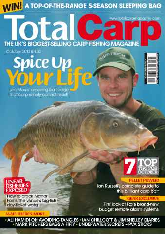 Total Carp issue October 2013