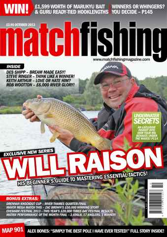 Match Fishing issue October - 2013