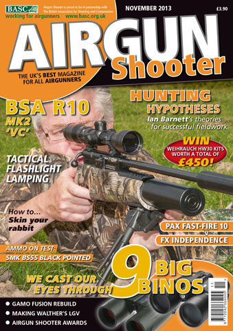 Airgun Shooter issue November 2013