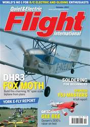 Quiet & Electric Flight Inter issue October 2013