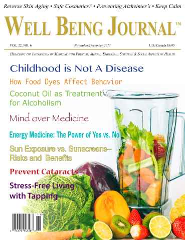Well Being Journal issue November-December 2013