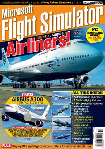 Airliner World issue Microsoft Flight Simulator 2