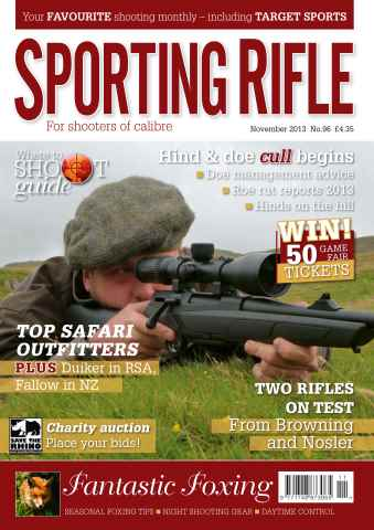 Sporting Rifle issue 96