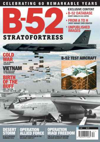 Combat Aircraft issue B-52 Stratofortress