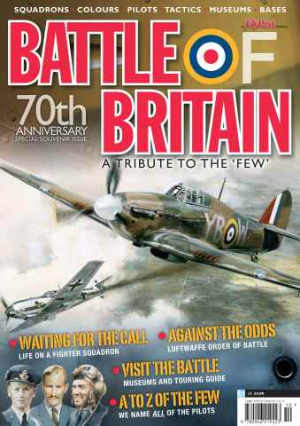 Combat Aircraft issue Battle of Britain