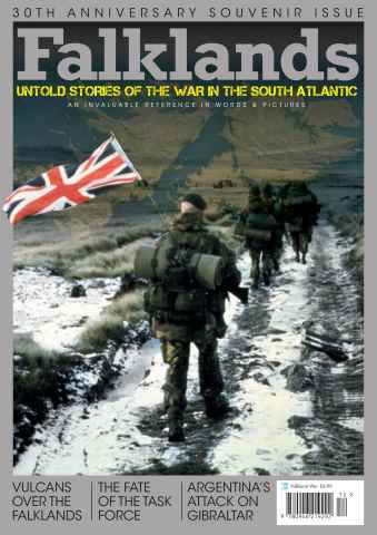 Aviation News issue Falklands